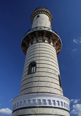 attraktion: light tower of Warnemuende (Germany)