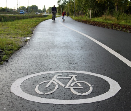 piktogramm: Cycle track 02