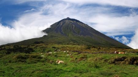 Vulkan Mount Pico auf Pico Insel Azoren-Inseln 03 Standard-Bild - 16240802