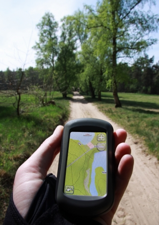 GPS-Navigation during jogging