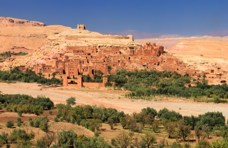 Old Ksar of Ait-Ben-Haddou in morocco