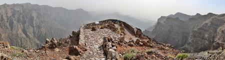 mirador: Mirador near Roque de los Muchachos - La Palma, Canary Islands