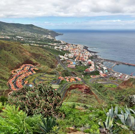 la: Santa Cruz de la Palma - View from Mirador de la Conception - La Palma, Canary Islands