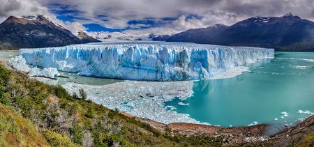 calafate: Perito Moreno Glacier at Los Glaciares National Park NP, Argentina - HDR panorama