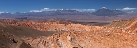Valle de Muerte - Atacama desert near San Pedro, Chile Stock Photo