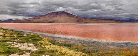 Laguna Colorada - Bolivia Stock Photo