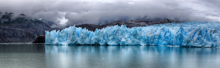 Gray Glacier at Torres del Paine NP, Patagonia, Chile - HDR image