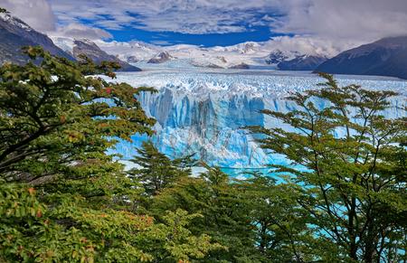 Perito Moreno Glacier at Los Glaciares National Park - Argentina