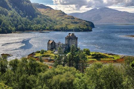 Medieval fortress Eilean Donan Castle - Western Highlands, Scotland