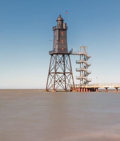 Lighthouse Obereversand in Dorum-Neufeld - Lower Saxony, Germany