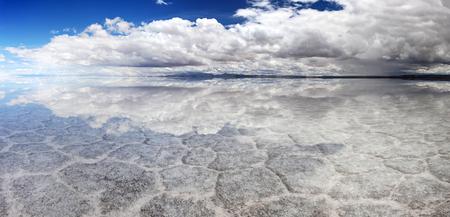 Salt Lake Uyuni, Bolivia - panorama