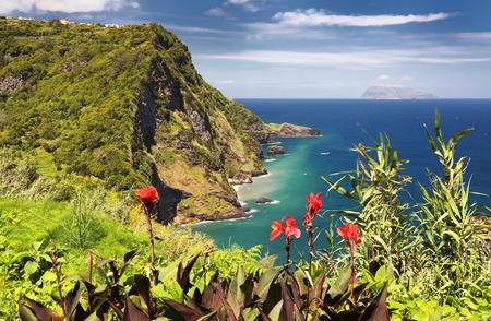Miradouro dos Caimbros at Flores - Azores islands