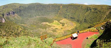 Volcanic Caldeira of Faial, Azores