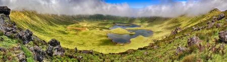 Volcanic Caldeira of Corvo, Azores
