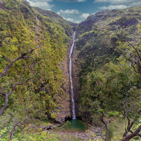 Waterfall Cascade Biberon at island Reunion