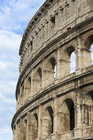 rom: Amphitheatrum Flavium, Colosseum, Rom, Italien