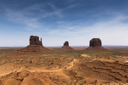 monument valley: Monument Valley II, Arizona, Utah, USA