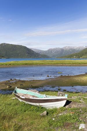 lofoten: old boat, Lofoten, Norway