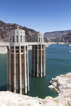 hoover: Hoover Dam, Boulder Dam, Arizona, Nevada, USA