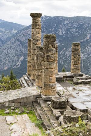 apollo: temple of Apollo, Delphi, Greece