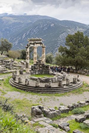delphi: Tholos, Delphi, Greece