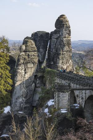 bastion: Bastion, Saxon Switzerland, Saxony, Germany
