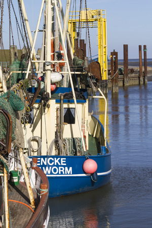 transportaion: ship in port, north beach, North Sea, Germany
