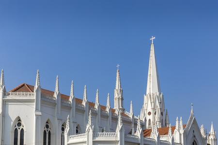 St. Thomas Basilica, Chennai, Tamil Nadu, India