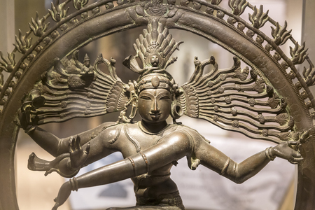 sculpture of Nataraja, Lord of the Dance, New Delhi, India