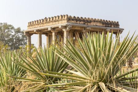 Sasivekalu Ganesha monument, Hampi, Karnataka, India Stock Photo