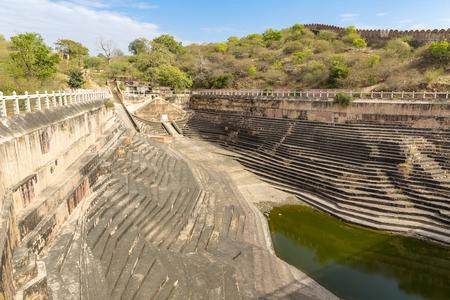 water tank, Nahargarh Fort, Jaipur, Rajasthan, India