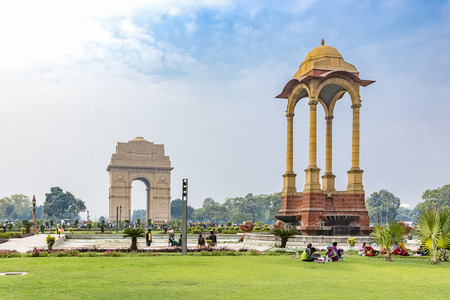 India Gate and Canopy, New Delhi, India