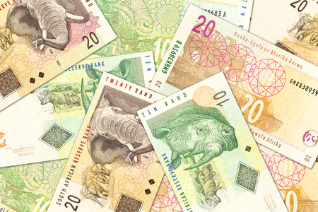 some south african rand banknotes