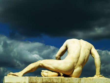 Nude man Stock Photo - 501259