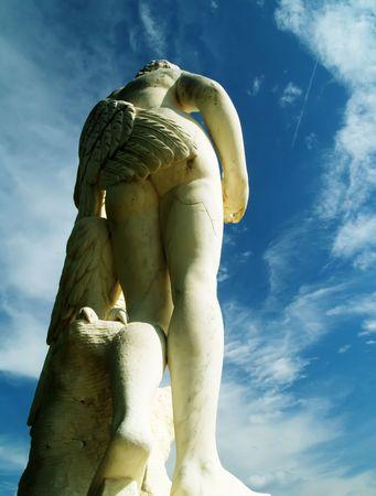 angel de la independencia: Estatua de antig�edades