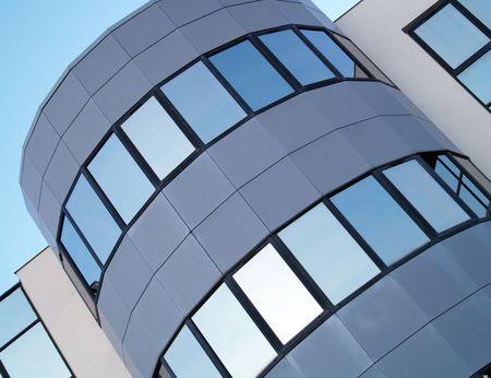workspaces: Detalle de un edificio de oficinas