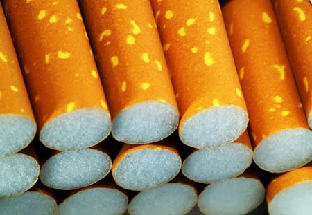 Close up of filter cigarettes Stock Photo - 513968