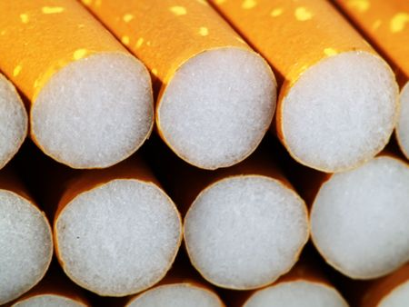 Close up of filter cigarettes Stock Photo - 513967