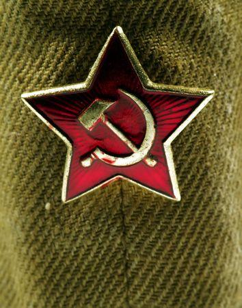 Close up of a russian kepi