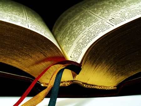 faiths: Close up of a bible