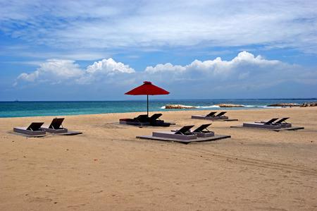 kuta: Kuta beach in bali Stock Photo
