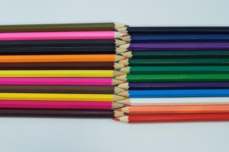 Colored pencils Reklamní fotografie