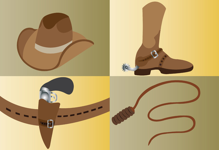Most iconic tools and instruments used by the cowboys,