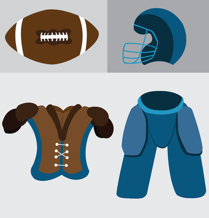 a  sample of gadgets usually found with football players