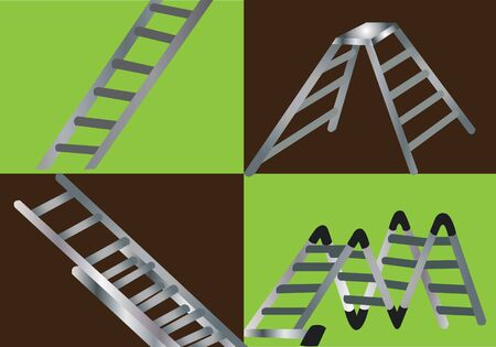 Different types of Commonly used ladders
