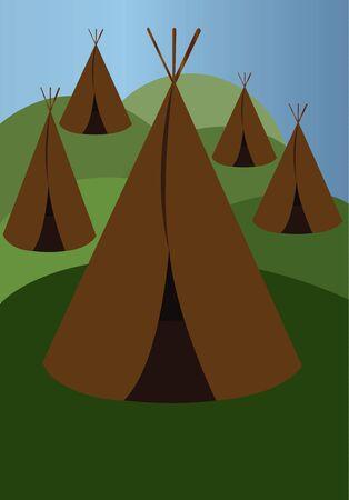 Native American Settlements