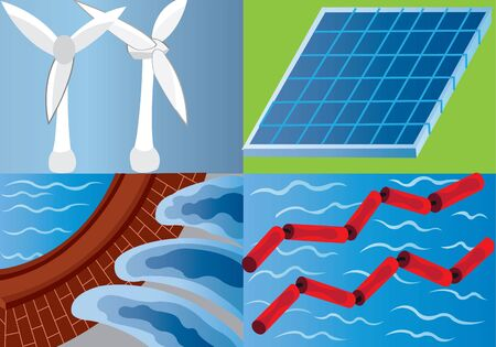 Different Forms of renewable Energy