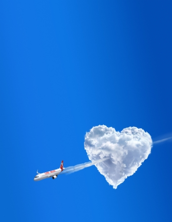 Love airline  Love is in the air photo
