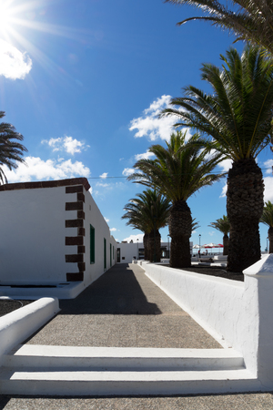 Femes belongs to the parish of Yaiza and is a small quiet and not very busy village, All which is visited by tourist who like to enjoy the fantastic view to Playa Blanca-including some unique sundowns or to start Their walk up to the mountains Pico Redond