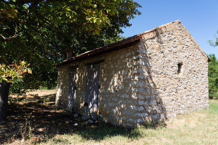 exact: Cabin in the fields in the south of France, the provence to exact.
